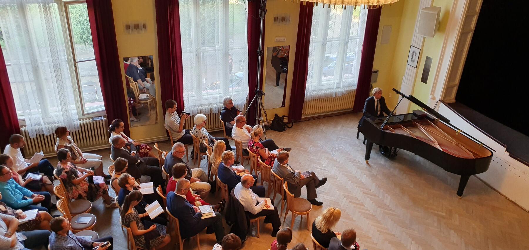 Koncert k 100. výročí narození Gideona Kleina